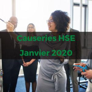 Causeries HSE - abonnement annuel